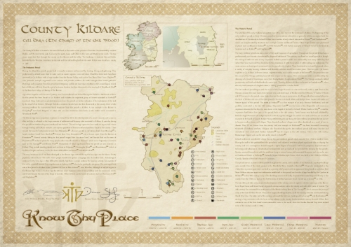 Know Thy Place County Chart