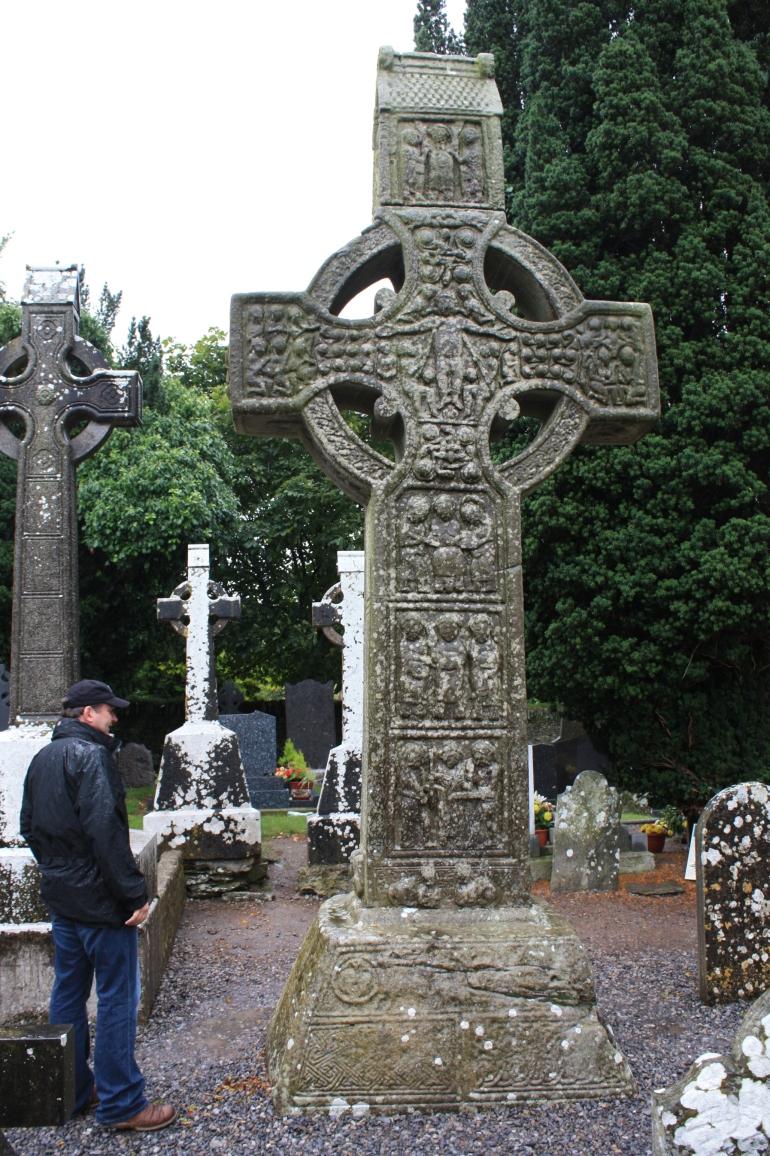 Me and Muiredach's Cross, Monasterboice