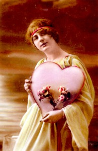 St. Valentine's Day image c.1910- where did it all come from?