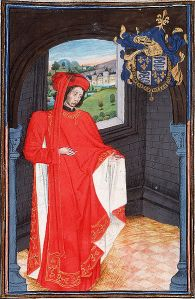 Charles of Orleans, one of the original Valentine love poem set