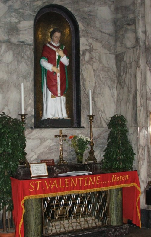 The Shrine of St. Valentine, Whitefriar Street Church, Dublin