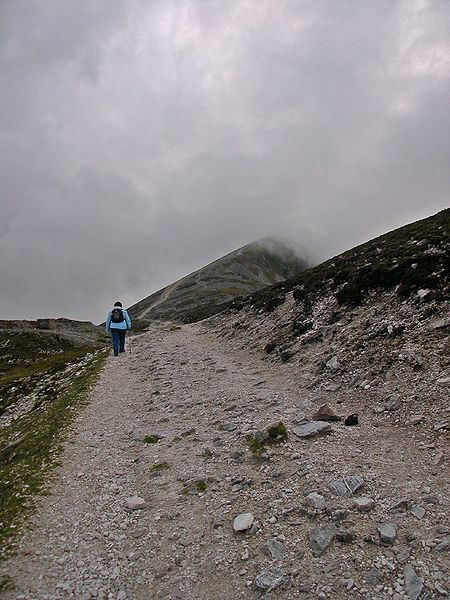 The Pilgrim's Path on Croagh Patrick, Co. Mayo
