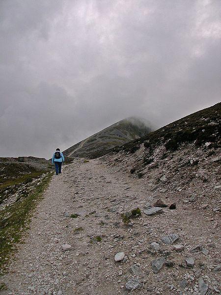 The Pilgrim's Path on Croagh Patrick, Co. Mayo