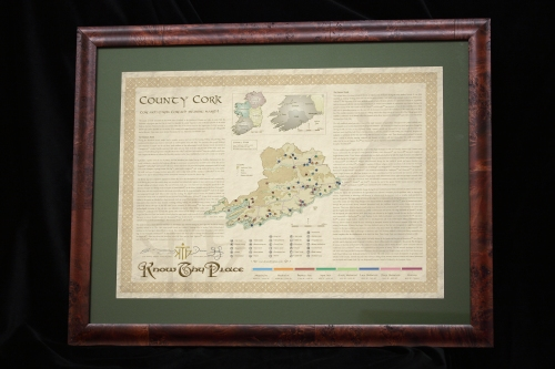 Our Know Thy Place Chart for Co. Cork, now available in the National Museum of Ireland