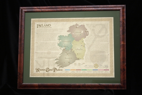 Our Know Thy Place Ireland Chart, now available at the National Museum of Ireland