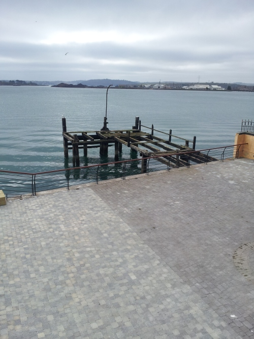 Another view of 'Titanic Pier'. Sadly it is today in urgent need of restoration.