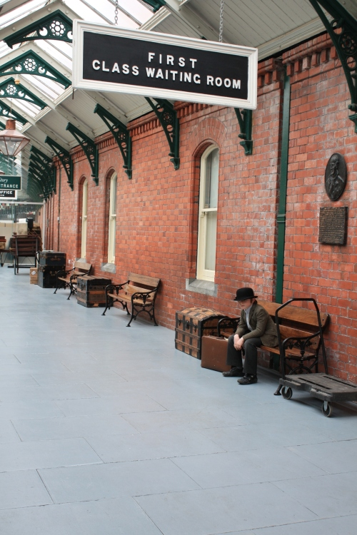 The former train station at Cobh, where many of the passengers destined to board the Titanic arrived. Today it serves as the towns Heritage Centre.